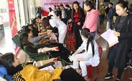 CĐ ngành Y tế tỉnh Ninh Bình: 250 tình nguyện viên đăng ký hiến máu
