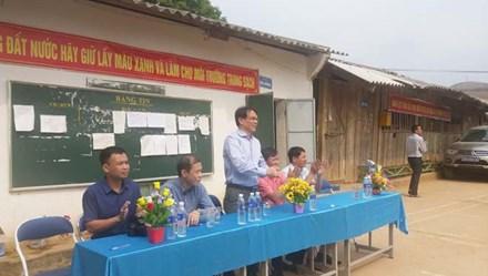 CĐ Công thương VN: Hơn 28 triệu đồng hỗ trợ học sinh vùng khó khăn ở Điện Biên