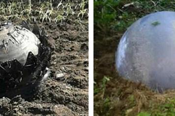 Loạt ảnh vật thể lạ rơi ở Tuyên Quang: Hóa ra chẳng có gì lạ