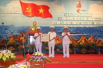 Báo Hải quân Việt Nam được trao tặng Huân chương Bảo vệ Tổ Quốc