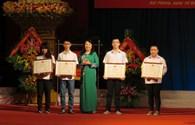 Hải Phòng: Biểu dương các học sinh giỏi quốc tế, quốc gia