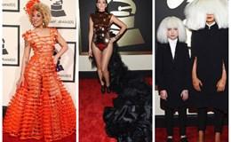 10 ngôi sao ăn mặc tệ nhất tại giải Grammy 2015