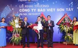 """Bảo hiểm Bảo Việt khai trương chi nhánh """"100 tỉ đồng"""" tại Tây Sơn"""