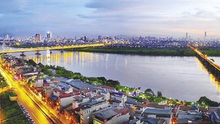 Hà Nội đánh thức tiềm năng bất động sản 2 bên bờ sông Hồng