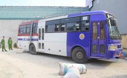 Thanh Hóa: Bắt giữ xe khách vận chuyển thực phẩm bẩn