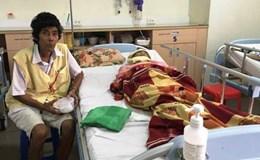 Những bệnh nhân đón tết trong bệnh viện