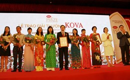 Hai công trình nghiên cứu về y học đạt giải thưởng Kova