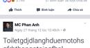 Từ một status của MC Phan Anh, bàn thêm về hiện tượng like của giới trẻ Việt Nam