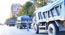 Quảng Bình: Xử phạt nhiều xe chở vật liệu quá tải trên đường phố