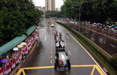 Toàn cảnh lễ tang cố Thủ tướng Lý Quang Diệu: Giản dị mà tràn đầy xúc cảm