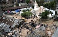 Động đất ở Nepal san phẳng khu trung tâm thủ đô, phá hủy nhiều di sản thế giới