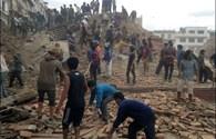 Số người chết vì động đất Nepal vượt qua con số 7.000