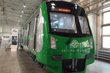 Tiết lộ hình ảnh tàu điện mẫu tuyến Cát Linh - Hà Đông