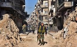 Hàng trăm chiến binh hạ vũ khí ở Aleppo trong một ngày đêm