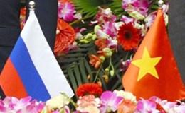 Mối quan hệ Nga - Việt đang phát triển tốt đẹp