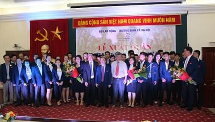 Lễ xuất quân Kỳ thi tay nghề ASEAN lần thứ XI