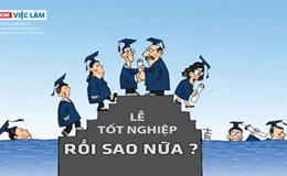 Sinh viên mới ra trường thất nghiệp do đâu?