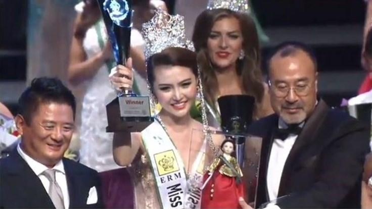 Người đẹp Việt Nam Ngọc Duyên đăng quang Nữ hoàng Sắc đẹp Toàn cầu