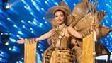 Trang phục dân tộc của Lệ Hằng được đánh giá cao, xếp top 4 tại Hoa hậu Hoàn vũ