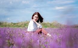 Cánh đồng hoa tím đẹp mê hồn khiến giới trẻ phát sốt