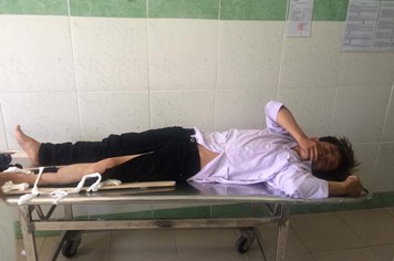 Vụ CSGT bị tông gãy chân: Chiến sĩ CSGT cũng có lỗi