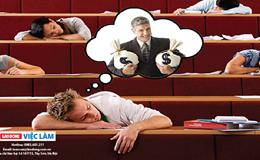 """Học đại học có đang """"ru ngủ"""" tuổi trẻ của bạn?"""