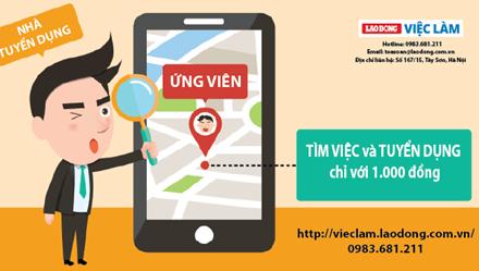 Website đăng tin tuyển dụng miễn phí và dịch vụ tuyển dụng HOT