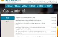 Vietnam Airlines tăng cường kiểm soát sau vụ trang mạng bị tấn công
