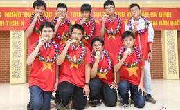 Thi toán quốc tế, đoàn Việt Nam giành 20 HCV
