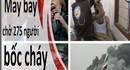 THẾ GIỚI 24H: Máy bay chở 275 người bốc cháy, Sập cầu cao tốc ở Ấn Độ