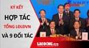 Ký kết thỏa thuận hợp tác giữa Tổng LĐLĐVN và 9 đối tác về chăm lo cho đoàn viên và NLĐ