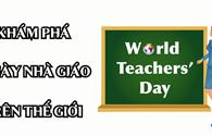 Infographic: Có gì đặc biệt trong ngày hiến chương nhà giáo trên khắp thế giới