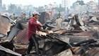 Hiện trường hoang tàn sau vụ cháy hơn 70 nhà bồn ở Nha Trang