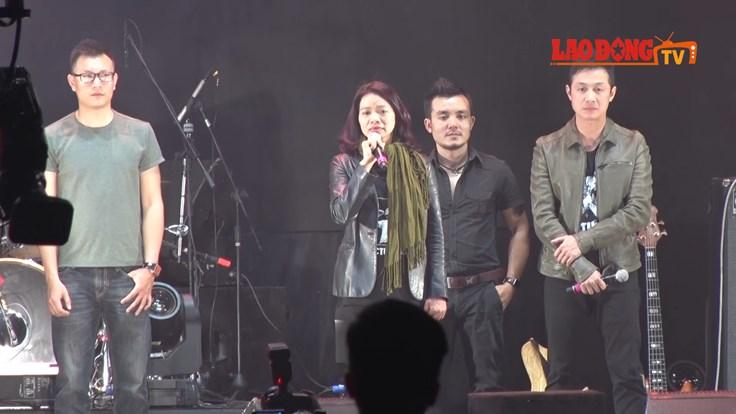Khán giả lặng người nghe chia sẻ của vợ cố nhạc sĩ Trần Lập