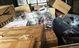 Nghệ An: Bắt lô hàng điện tử nhập lậu trị giá lớn