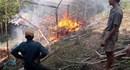 Nghệ An: Cháy nhà của đôi vợ chồng tật nguyền