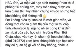 Vụ học sinh tố cô giáo chép bài thi ở Nghệ An: Đình chỉ thêm một giám thị