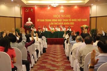 Ông Trần Thanh Mẫn giữ chức Phó Chủ tịch - Tổng thư ký Ủy ban T.Ư MTTQ Việt Nam