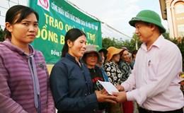 Nhiều chính sách hỗ trợ người dân vùng lũ