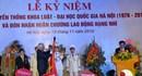 Khoa Luật – Đại học Quốc gia Hà Nội đón nhận Huân chương lao động hạng Nhì