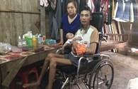 LD16118: Bức tâm thư từ vùng lũ của chàng trai trẻ phải ngồi xe lăn