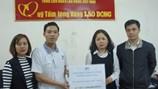 Công đoàn Công ty TNHH Power Logics Vina ủng hộ đồng bào miền Trung