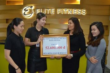 Elite Fitness gây quỹ ủng hộ đồng bào bão lũ
