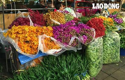 Thế giới muôn màu tại Pak Klong Talad, chợ hoa lớn nhất Bangkok