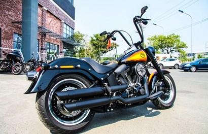 Cận cảnh Harley-Davidson độc nhất Việt Nam giá gần 800 triệu