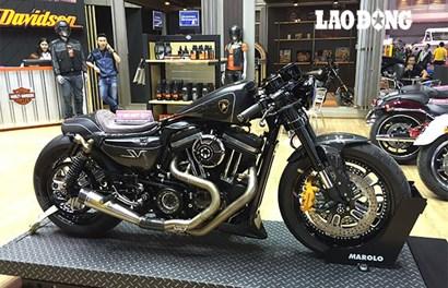 """Harley-Davidson độ cafe racer lai Lamborghini """"giá vừa miếng"""" dân chơi Việt"""