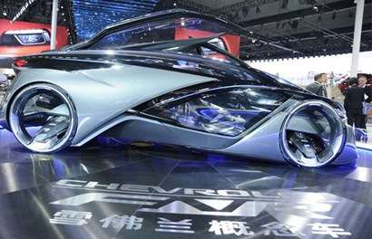 Cận cảnh xe siêu dị, công nghệ cao mới lộ của GM
