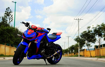 "Độc chiêu Kawasaki Z1000 bản siêu nhân ""made in Vietnam"""