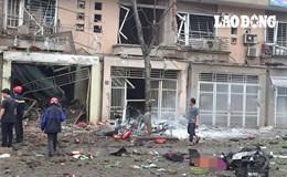 Hiện trường tan hoang sau vụ nổ lớn tại Hà Đông, Hà Nội