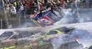 Video: 22 xe ô tô đâm vào nhau toé lửa trên đường đua Daytona